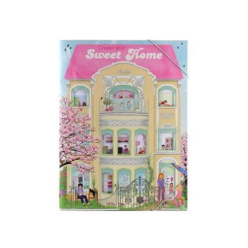 Top Model Sweet Home Boyama Kitabı Dk06662