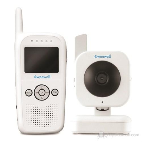 Weewell Dijital Bebek İzleme Cihazı – Kablosuz 150m – TV Monitor Bağl. – Zoom – Karşılıklı konuşma - Ortam Termometresi