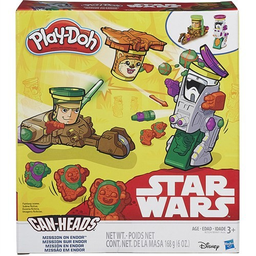 Play-Doh Star Wars İkili Araç Seti B0001