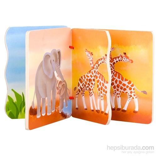 Classic World Ahşap Vahşi Hayvanlar Kitabım
