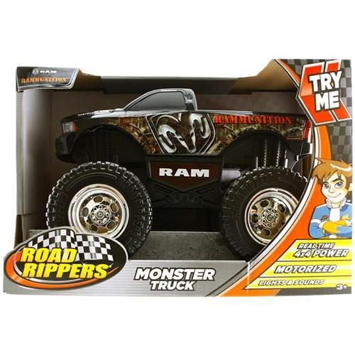 Monster Truck Rammuni Sesli Ve Işıklı 4X4 Kamyonet