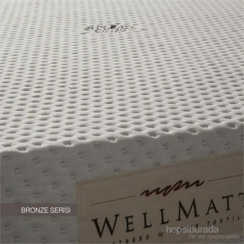 """Wellmatt Bronze Baby Ortopedik Visco Yatak 60X120 (5Cm Visco Katmanlı Yatak) """"Oyun Parkı Yatağı"""""""