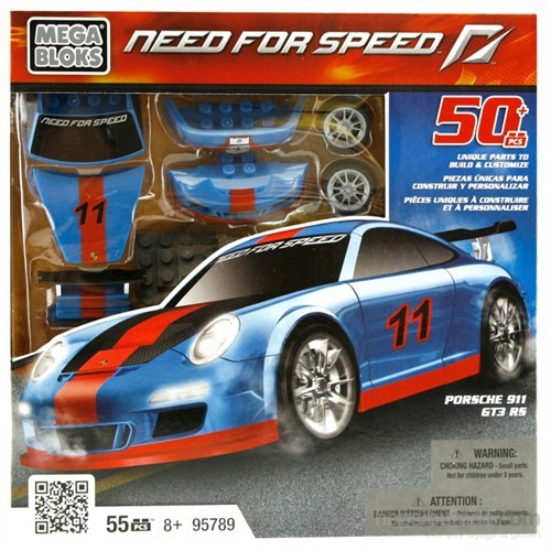 Mega Bloks Need For Speed Porsche 911 Gt3 Rs Oyun Seti