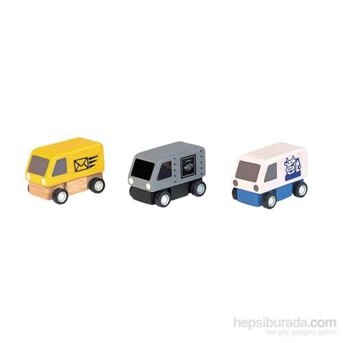 Plantoys Dağıtım Arabaları (Delivery Vans)