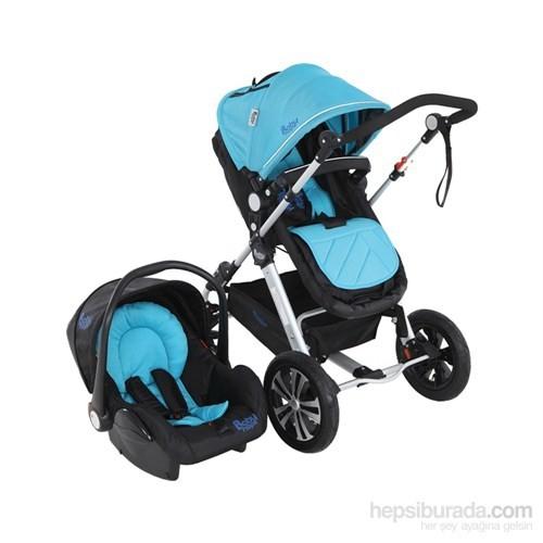 Babyhope Bh-3060 Enzo Travel Puset (Mavi)