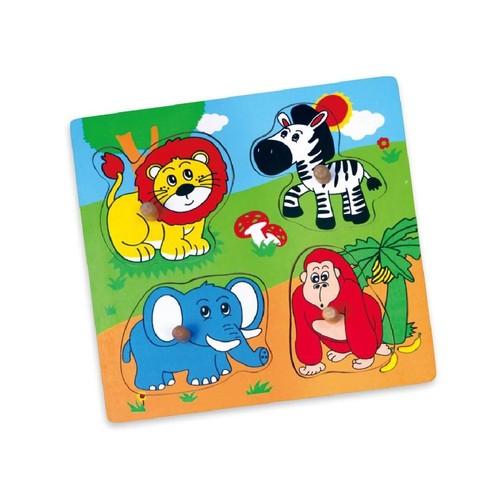 Vıga Toys Vahşi Hayvanlar Puzzle