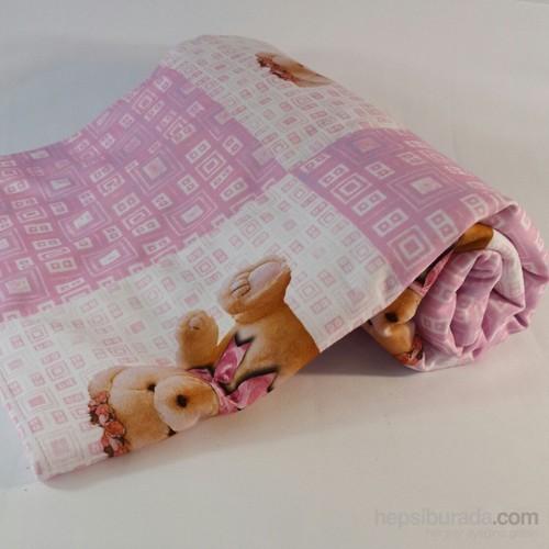Zey Tasarım Bebek Puset Battaniyesi - Ayıcıklı