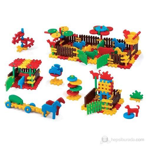 Marioinex 240 Parça Tasarım Blokları Çiftlik 900956