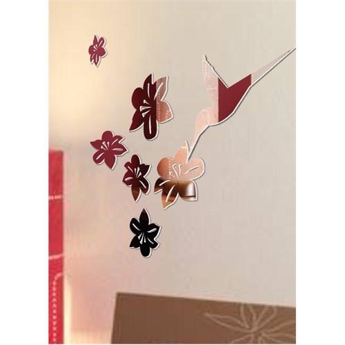 Kuş ve Çiçekler Bal Kuşu Temalı Doğa Aynaları
