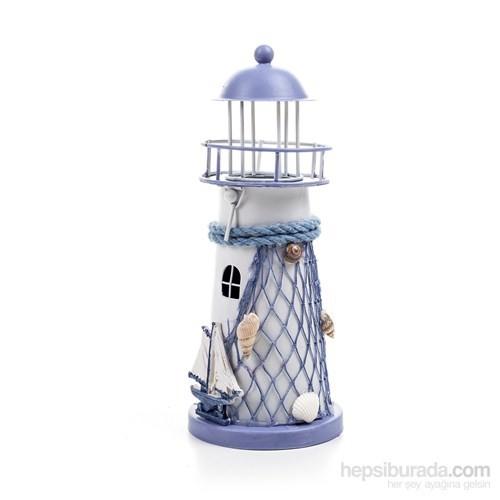 Metal Deniz Feneri Mumluk
