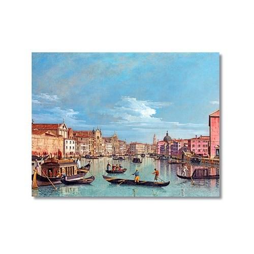 Tictac Venedik 6 Kanvas Tablo - 50X75 Cm