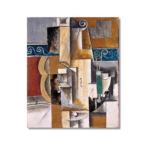 Tictac Picasso 10 Kanvas Tablo - 50X75 Cm