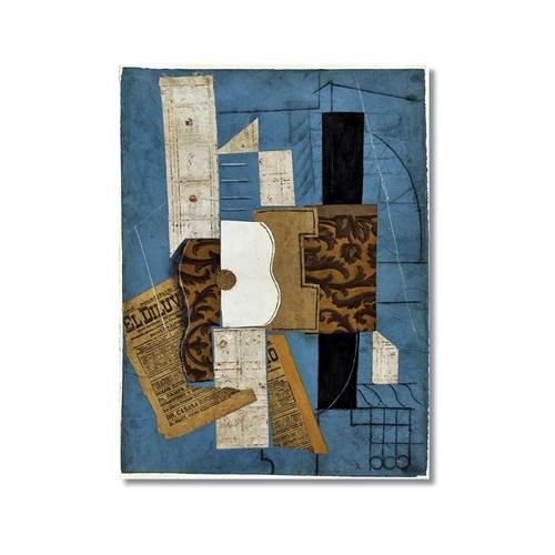 Tictac Picasso 14 Kanvas Tablo - 50X75 Cm