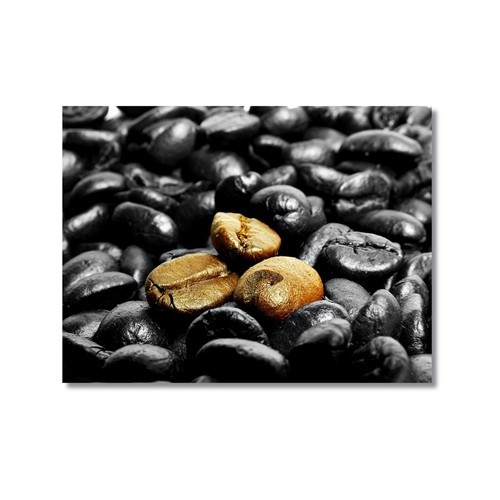 Tictac Kahve Çekirdekleri Kanvas Tablo - 50X75 Cm