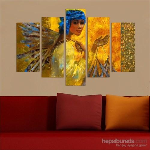 5 Parçalı Dekoratif Tablo DEC063