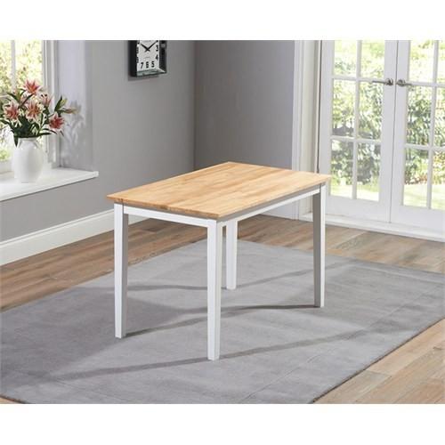 Woodenbend Versay Beyaz Masa 70*110