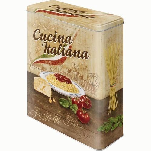 Nostalgic Art Cucina Italiana Teneke Saklama Kutusu (Xl)