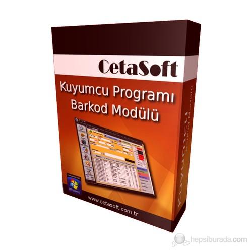 CetaSoft Kuyumcu Programı Barkod Paketi