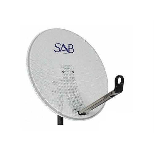 Sab Delikli Çanak Anten Beyaz 65Cm
