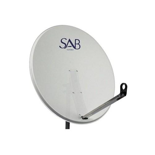 Sab Delikli Çanak Anten Beyaz 97Cm