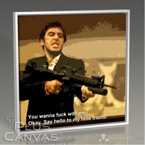 Pluscanvas - Al Pacino - Say Hello Tablo