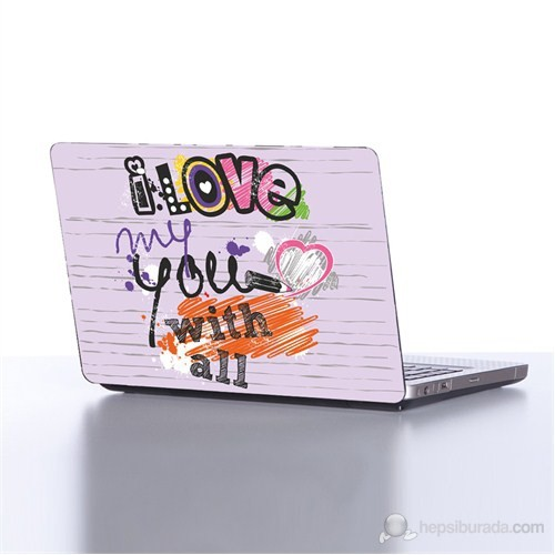 Dekorjinal Laptop StickerLE050
