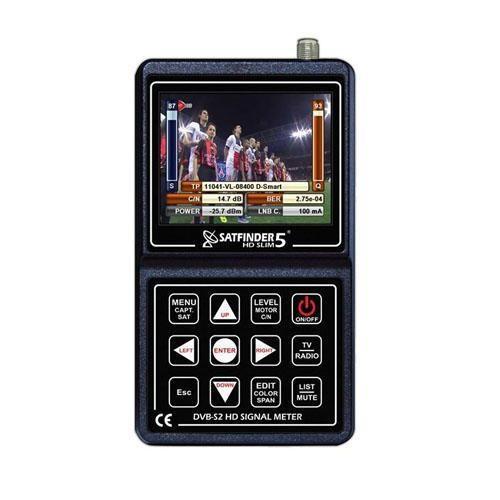 Satfinder 5 Hd Slim Uydu Bulucu