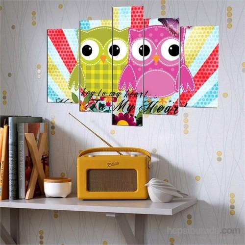 5 Parçalı Dekoratif Tablo Y5tp086