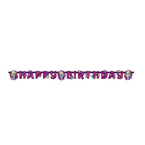 Parti Şöleni Şirine Happy Birthday Banner