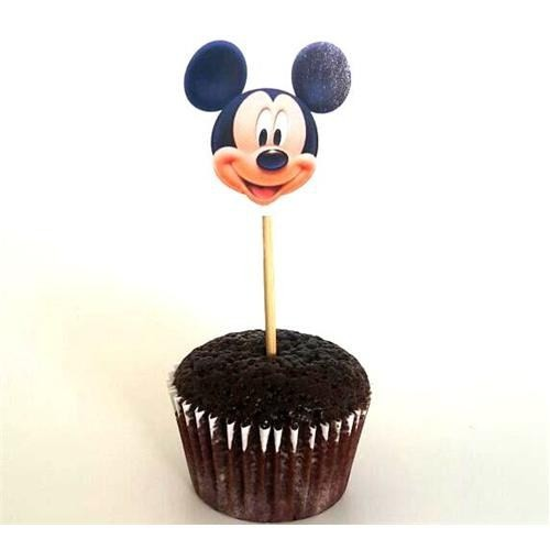 Parti Şöleni Mickey Mouse Kürdan Süs 10 Adet