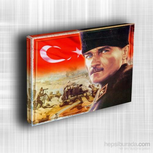 Doku Canvas Baskı Atatürk Atge-004/ 35*50