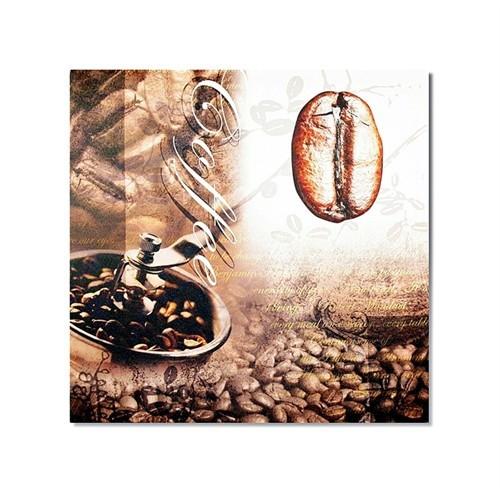 Tictac Kahve Çekirdeği 1 Kanvas Tablo - 60X60 Cm