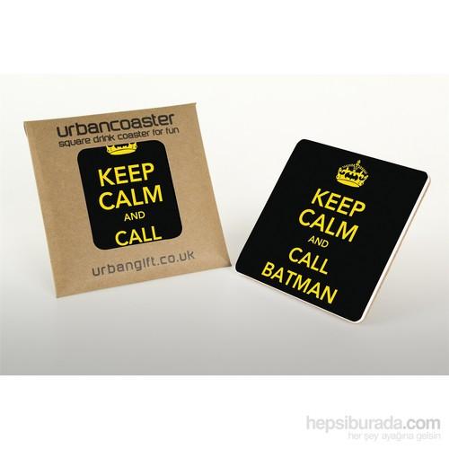 Urbangiftkeep Calm And Call Batman Coaster 10*10Cm