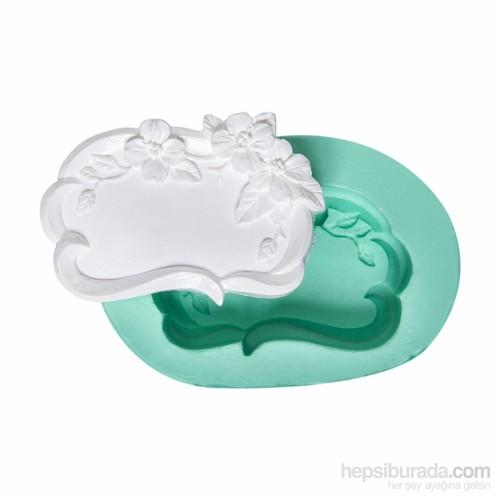 Kurdelya Çiçekli Çerçeve Sabun Kalıbı