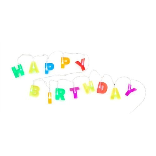 Kikkerland Işık - Happy Birthday