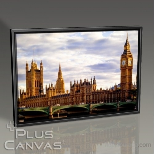 Pluscanvas - London - Big Ben Tablo