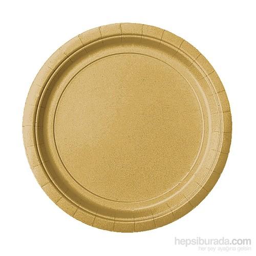 Kullanatmarket Altın Karton Tabak 8 Adet