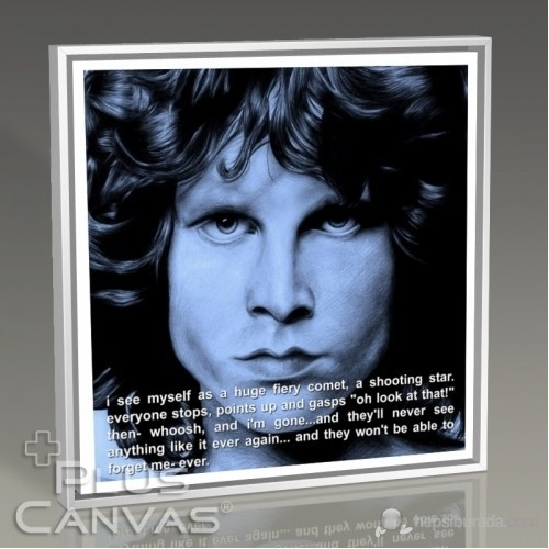 Pluscanvas - Jim Morrison - Myself Tablo