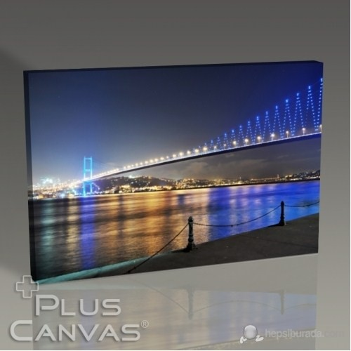 Pluscanvas - İstanbul - Boğaziçi Köprüsü Tablo
