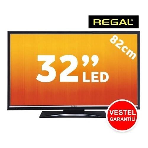 "Regal LD32H4041S 32"" UsbMovie FULL HD UYDU ALICILI LED TV ( Askı Aparatı Hediyeli )"