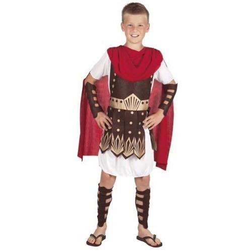 Parti Paketi Romalı Gladyatör Kostümü Lüks 4-6 Y