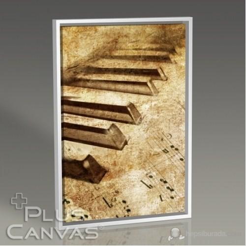 Pluscanvas - Piano Close-Up Tablo