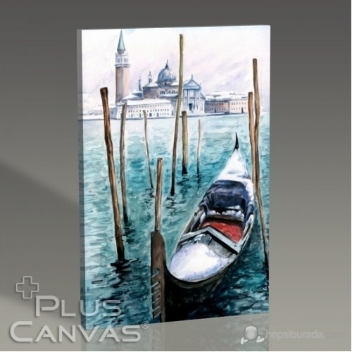 Pluscanvas - Venezia - Watercolor Series Iı Tablo