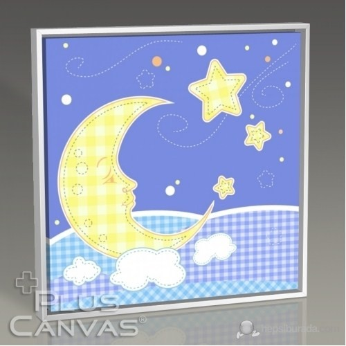 Pluscanvas - Baby Moon Tablo