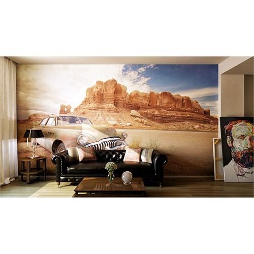 Iwall Resimli Dağ Ve Vadi Duvar Kağıdı 370X250