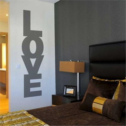 I Love My Wall Konuşan Duvarlar (Kd-028)Sticker(Baykuş Sticker Hediye!)