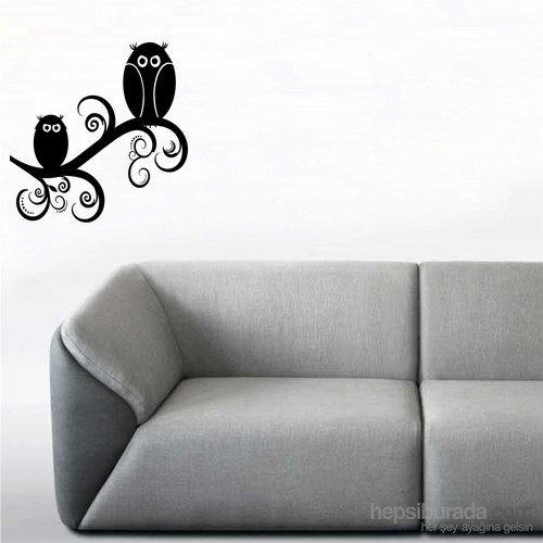 I Love My Wall Modern (Mdn-081)Sticker(Baykuş Sticker Hediye!)