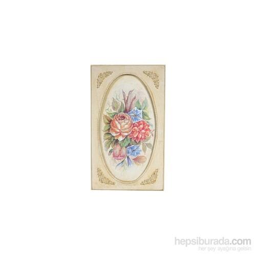 Noble Life Renkli Çiçek Demeti Tablo