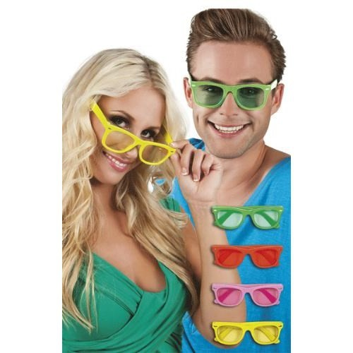 Parti Paketi Renkli Parti Gözlüğü