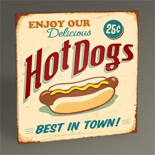 Tablo 360 Hot Dogs Iı Tablo 30X30